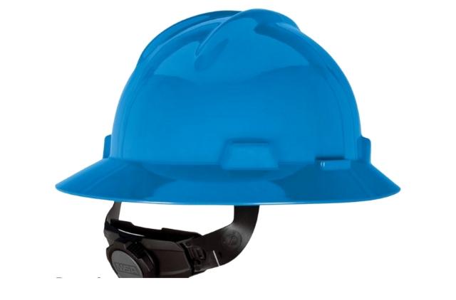 jual MSA V Gard Full Brim Helmet 475, di cilegon