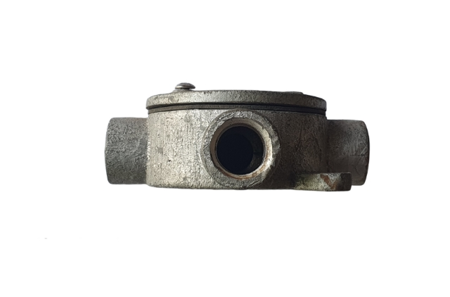 Jual Circular Outlet Box Conduit Water Proof