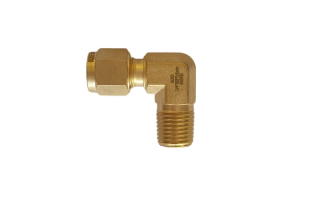 Jual male elbow material brass